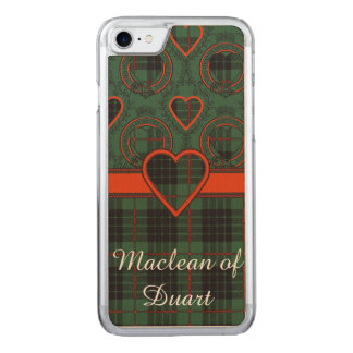 Gunn clan Plaid Scottish tartan Carved iPhone 8/7 Case