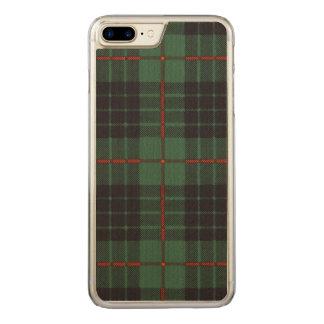 Gunn clan Plaid Scottish tartan Carved iPhone 8 Plus/7 Plus Case