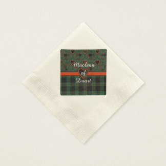Gunn clan Plaid Scottish tartan Disposable Serviettes