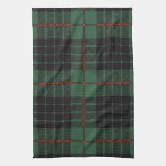 Gunn clan Plaid Scottish tartan Tea Towel