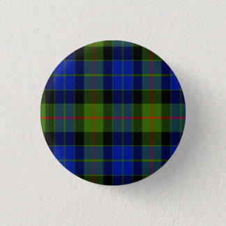 Gunn Scottish Tartan 3 Cm Round Badge