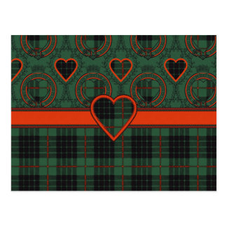 Gunn Scottish Tartan Postcard