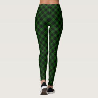 Gunn tartan plaid leggings