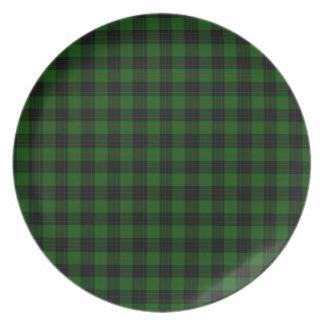 Gunn Tartan Plate