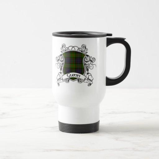 Gunn Tartan Shield Coffee Mug