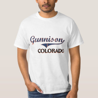 Gunnison Colorado City Classic Tee Shirt