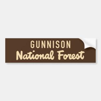 Gunnison National Forest Bumper Sticker