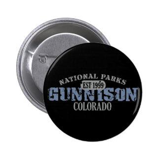 Gunnison National Park 6 Cm Round Badge