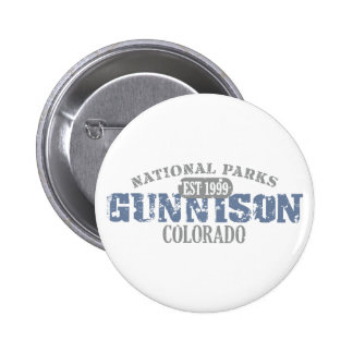 Gunnison National Park 6 Cm Round Badge