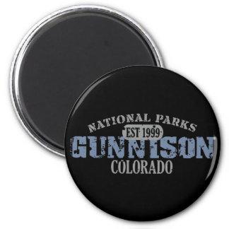 Gunnison National Park 6 Cm Round Magnet