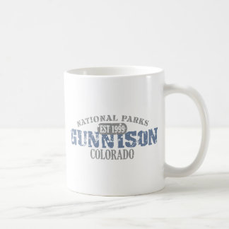 Gunnison National Park Basic White Mug