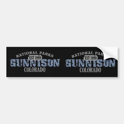 Gunnison National Park Bumper Sticker