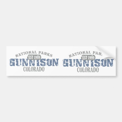 Gunnison National Park Bumper Stickers