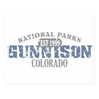 Gunnison National Park Postcard