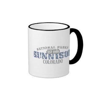 Gunnison National Park Ringer Mug