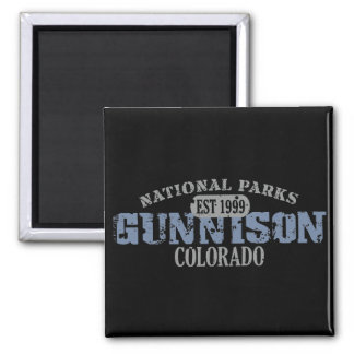 Gunnison National Park Square Magnet