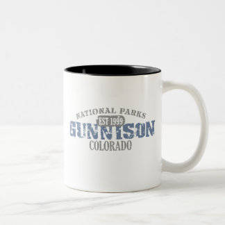Gunnison National Park Two-Tone Mug