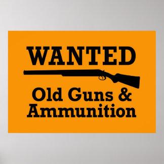 Guns & Ammuntion Poster