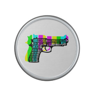 Guns and Candy Bluetooth Speaker