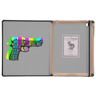 Guns and Candy iPad Cases