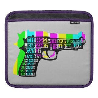 Guns and Candy Sleeve For iPads