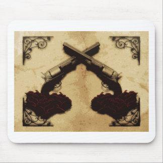 Guns and Roses Mouse Mat
