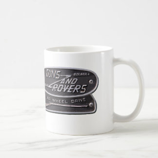 Guns and Rovers Forum Badge Basic White Mug
