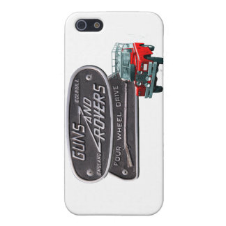 Guns and Rovers Red Rover iPhone 5/5S Case