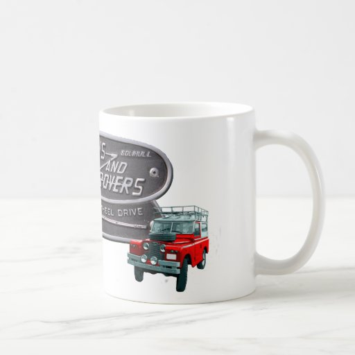Guns and Rovers Red Rover Coffee Mugs