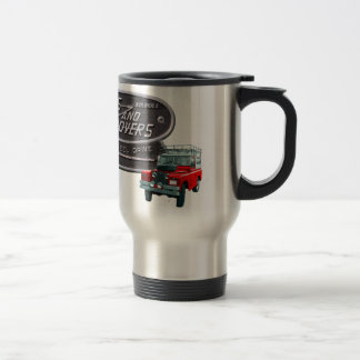 Guns and Rovers Red Rover Stainless Steel Travel Mug