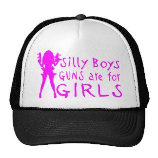 GUNS ARE FOR GIRLS CAP
