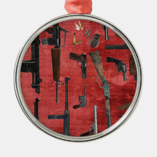 GUNS CHRISTMAS ORNAMENT