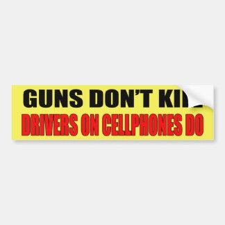 Guns Don't Kill Bumper Sticker