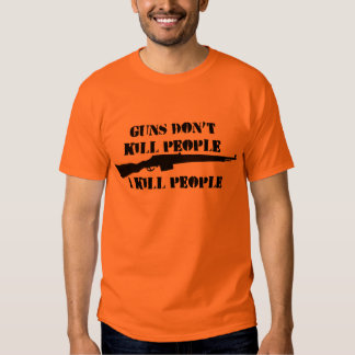 GUNS DON'T KILL t-shirt