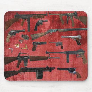 GUNS MOUSE MAT