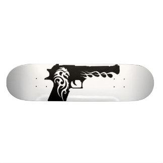 guns template 2 skate board decks
