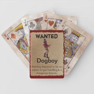 Gunslingers of the West - Dogboy Playing Cards