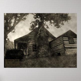Gunter Cabin Poster
