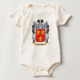 Gunter Coat of Arms - Family Crest Baby Bodysuit