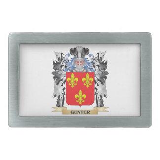 Gunter Coat of Arms - Family Crest Belt Buckles