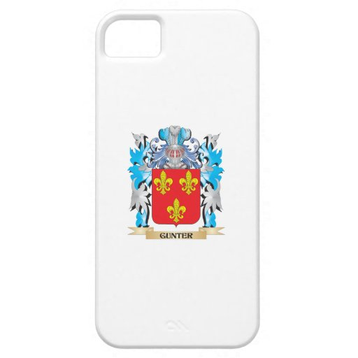 Gunter Coat of Arms - Family Crest iPhone 5 Cases
