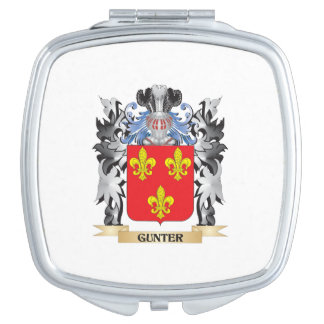 Gunter Coat of Arms - Family Crest Makeup Mirrors