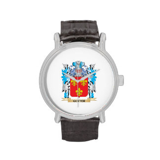 Gunter Coat of Arms - Family Crest Watches
