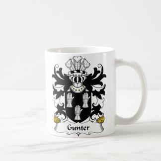Gunter Family Crest Basic White Mug