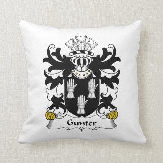 Gunter Family Crest Pillows