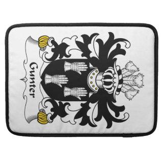 Gunter Family Crest Sleeves For MacBook Pro