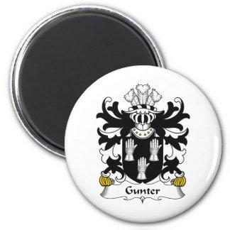 Gunter Family Crest Magnet