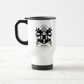 Gunter Family Crest Coffee Mugs