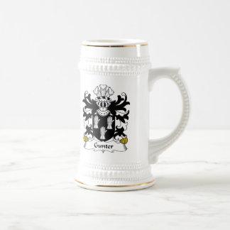 Gunter Family Crest Mug