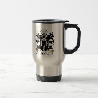 Gunter Family Crest Stainless Steel Travel Mug